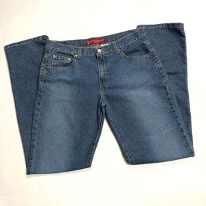 Levi's 505 Nouveau Low Rise Straight Leg Jeans